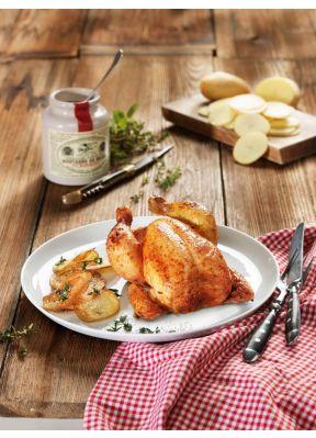 halbes-poulet-bratkartoffeln-auf-teller