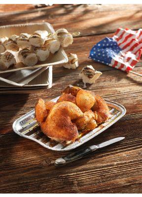 Grill-Güggeli American Style • gewürzt
