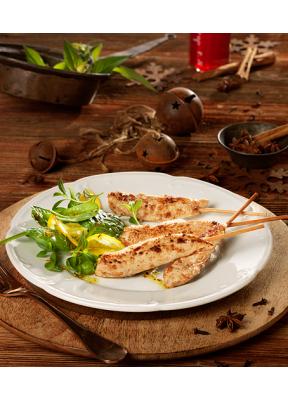 pouletspiessli-lebkuchen-salat-gewuerze