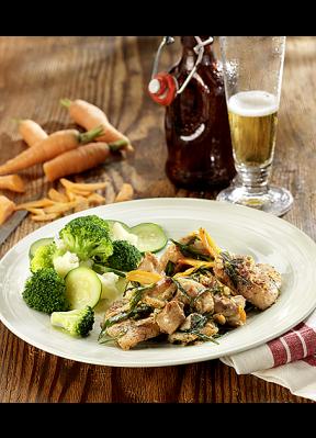 poulet-ragout-karotten-broccoli-zucchetti-bier