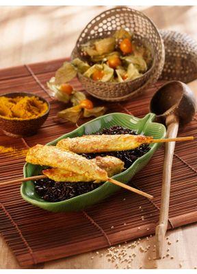 pouletspiessli-curry-sesam-physalis